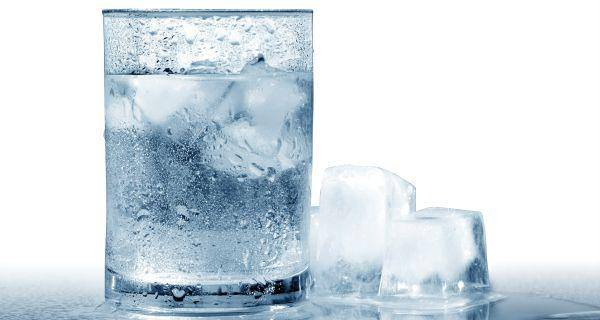Think twice about drinking cold water