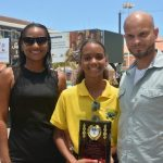 Young Swimmer Receives Mayor's Special Award