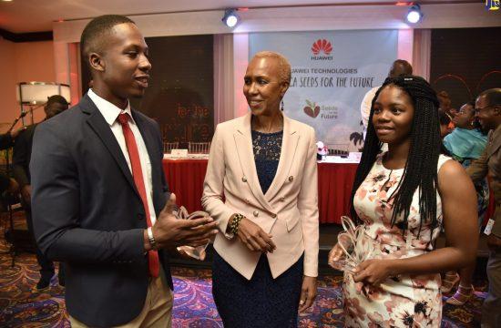 Jamaican Students on Two-Week Internship At Huawei