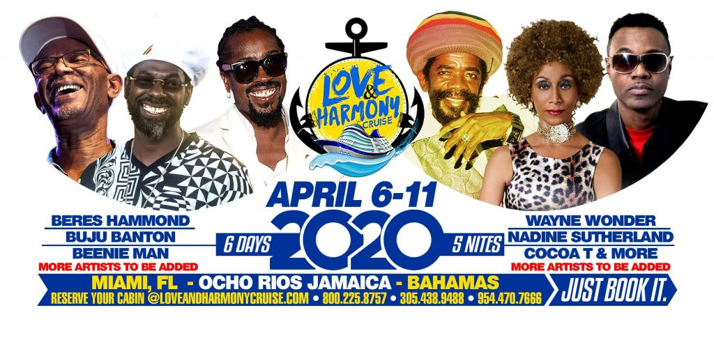 Cruise April 2020.Love And Harmony Cruise Set To Sail April 2020 The