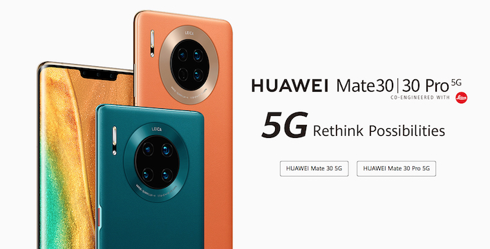 Huawei game changing Mate30 launched