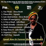 Top 10 Diss Songs by Male Artistes in Jamaica