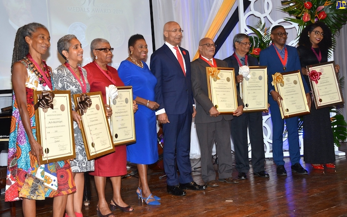 10 Jamaicans Awarded Musgrave Medals