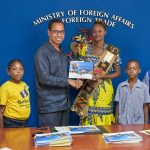Book On Reparations Presented to Barbadian Schools