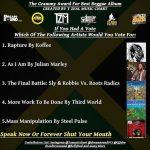 Who will take the Reggae Grammy?!