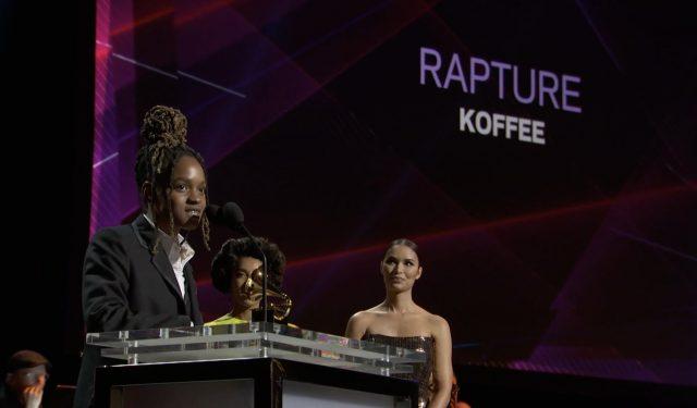 Koffee wins Grammy Award
