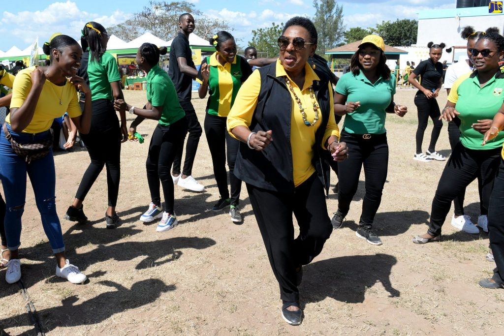 Jamaica culture minister  Hails Music Stalwarts