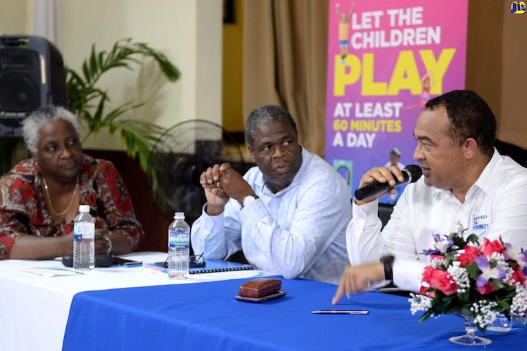 Jamaica health Minister