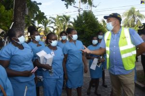Jamaica health minister urges St. Ann business community to follow new workplace protocols